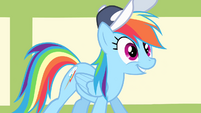 "Rainbow Dash ""up for the challenge"" S4E05"