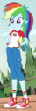 Rainbow Dash Camp Everfree outfit ID EG4