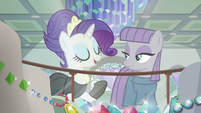 "Rarity ""there must be something here"" S6E3"