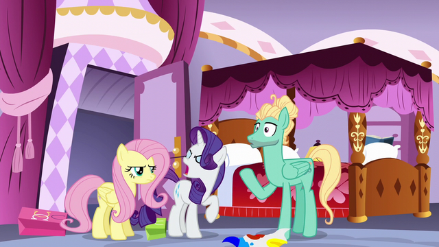 File:Rarity slaps fabric out of Zephyr's hoof S6E11.png