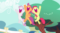 CMC hanging in the air S4E05
