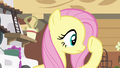 Fluttershy checking under her hoof S4E16.png
