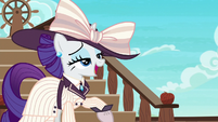 "Rarity says ""darling"" over and over S6E22"