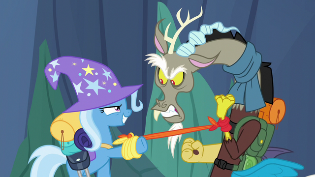 File:Trixie catches the Discord Changeling S6E26.png