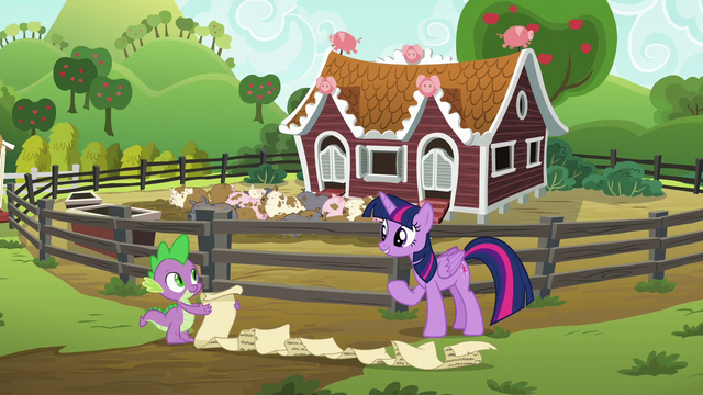 File:Twilight and Spike about to begin their task S6E10.png