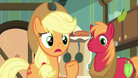 "Applejack ""but if we can't ask Granny"" S7E13"