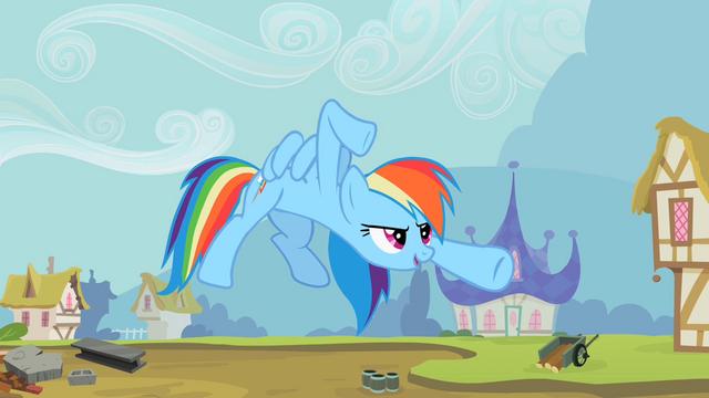 File:Rainbow Dash kung fu pose S2E8.png