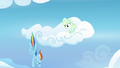 Rainbow diving down from Vapor's cloud S6E24.png