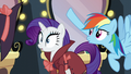 Rainbow flips Rarity's hat off S5E15.png