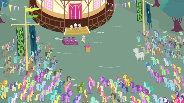File:Townsponies gathering S4E13.png