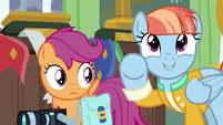"Windy Whistles ""Rainbow Dash Saves Ponyville"" S7E7"