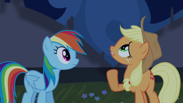 File:Applejack sees tapestry moving S4E03.png