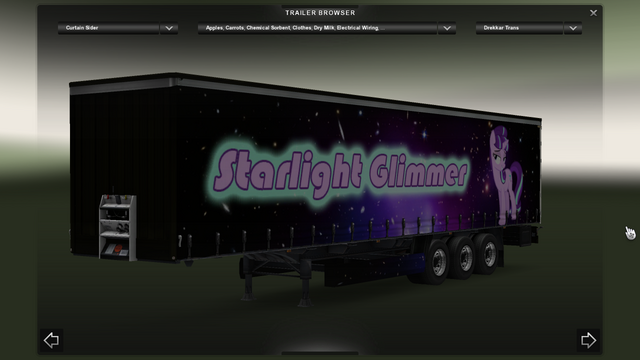 File:FANMADE ETS2 Pete 389 Custom - Starlight Glimmer Skin 10.png