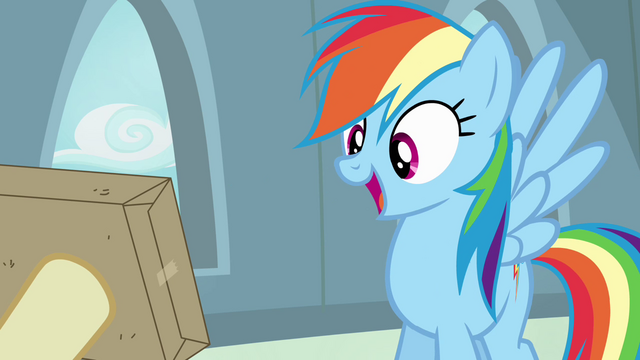 File:Rainbow Dash 'sweet!' S4E04.png