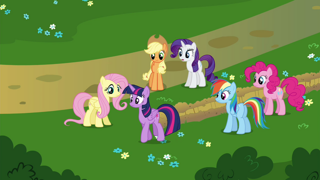 "File:Rarity ""Another visit to the Castle of the Two Sisters, I presume?"" S4E26.png"
