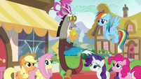 "Discord ""we've been pretty exhaustive"" S5E22"