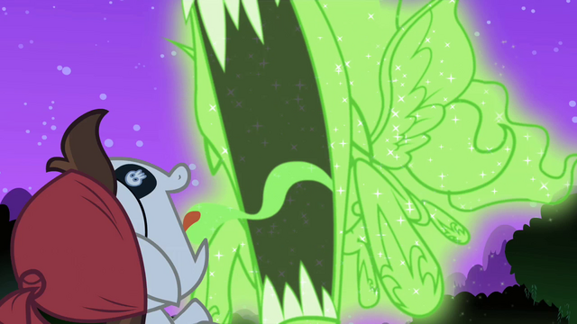 File:Nightmare Moon illusion almost about to gobble S2E04.png