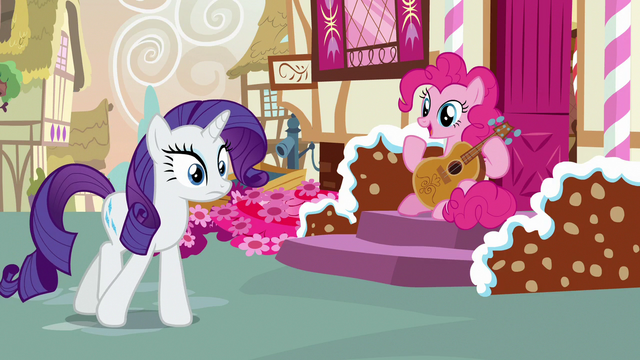 File:Pinkie Pie asks Rarity about the fashion contest S7E9.png