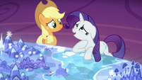 "Rarity ""been dying to go back for a visit"" S5E16"