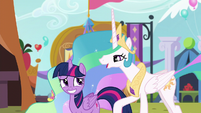 "Celestia ""you did a wonderful job of it"" S5E11"