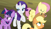 Twilight and friends relieved S4E18