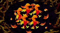 Baby baby phoenixes scared S2E21