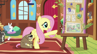 Fluttershy wants to try building the sanctuary again S7E5