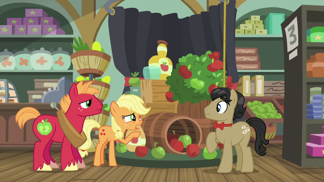 "File:Applejack ""I don't think I can get you any"" S6E23.png"