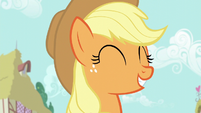 "Applejack ""glad we're doin' this"" S6E10"