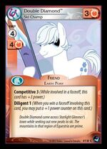 Double Diamond, Ski Champ card MLP CCG