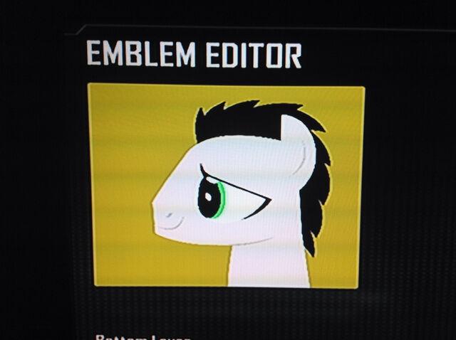 File:FANMADE Filly Please OC Swift Mane Black Ops 2 Emblem.jpg
