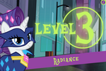 Power Ponies Go level 3 intro screen