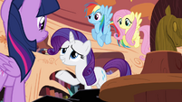 Rarity asks about Princess Celestia S4E01