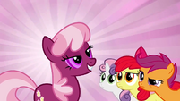 The CMC look at Cheerilee S2E17
