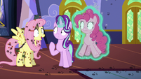 Fluttershy covered in rodents and vermin S6E21