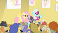 Photo Finish introducing Fluttershy to the paparazzi S1E20.png