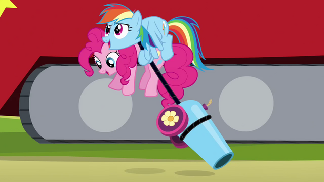 File:Rainbow Dash picking up Pinkie S4E12.png