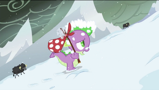 File:Spike in the snow S2E21.png