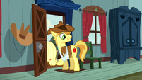 Braeburn looking at the Crusaders S5E6