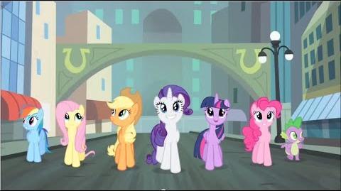 Brazilian Portuguese My Little Pony Generosity Song HD