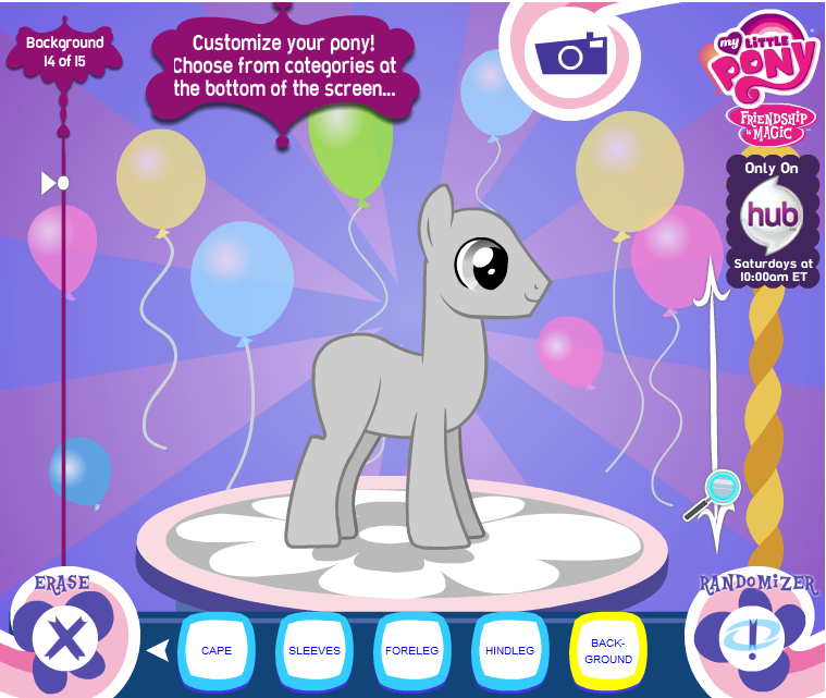 Ponymaker my little pony friendship is magic wiki Make your own 3d shapes online