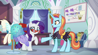 """Sassy """"supposed to be exactly the same!"""" S5E14"""
