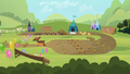 Sisterhooves Social racetrack wide view S2E05.png