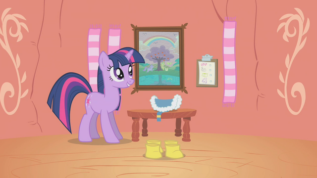 File:Twilight Sparkle Getting Ready S1E11.png
