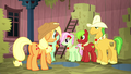 Applejack and relatives soaking wet S5E6.png