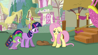 Fluttershy super sad S03E13