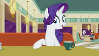 "Rarity ""when I decided to open this one"" S6E9"