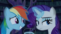 Rarity shifty eyes S5E21