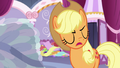 "Applejack ""you don't need feathers on your head!"" S7E9.png"
