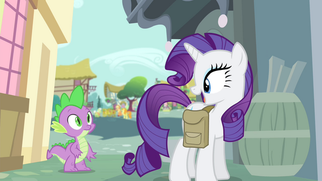 "File:Rarity ""especially when they're gorgeous ones!"" S4E23.png"